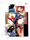 Original vintage 1996 Daredevil 357 page 4 Marvel Comics color guide art: 1990's