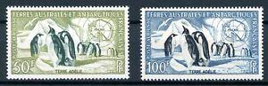 franz-Antarktisgebiete-MiNr-8-9-postfrisch-MNH-Pinguine-N738