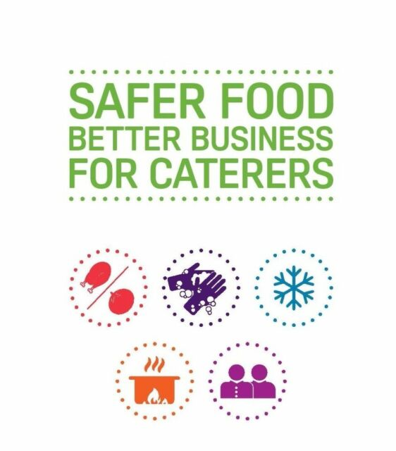 Safer Food Better Business Caterers Pack incl 13 Month Diary Updated 2018 SFBB
