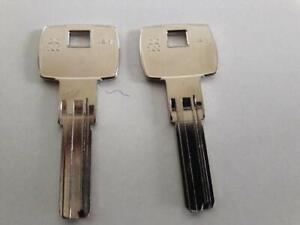 2-X-DOM-DO100-KEYLINE-Key-Blank-Schluesselrohling