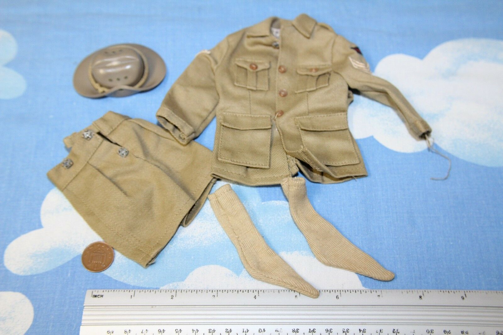 ORIGINAL VINTAGE ACTION MAN EARLY ISSUE AUSTRALIAN JUNGLE FIGHTER OUTFIT CB30658