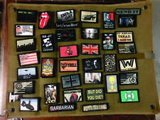 diy morale patch board