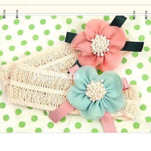 Cute Lace Flower Kids Baby Girl Toddler Headband Hairs Band Headwear Accessorie
