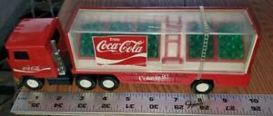 Vintage-Coca-Cola-Buddy-L-Semi-Truck-with-Bottles