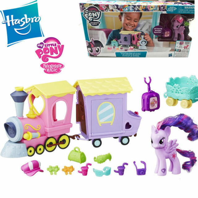 MY LITTLE PONY EXPLORE EQUESTRIA FRIENDSHIP EXPRESS TRAIN KID PLAYSET TOY MODEL