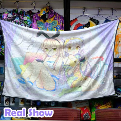 Anime BNA Brand New Animal Soft Warm Plush Coral Flannel Travel Throw Blanket