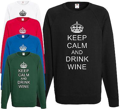 Wine Drink Funny Joke Rose Vino Sweater Jumper Rosé All Day Sweatshirt JH030