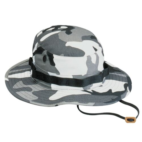 Ultra Force City Camouflage Military Camping Boonie Hat 5801 Rothco