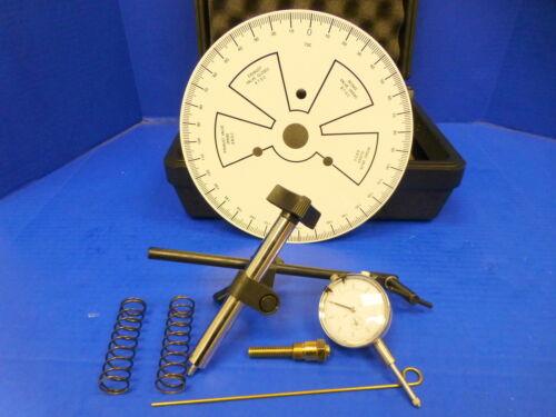 "Proform 66787 Universal Cam Camshaft Degree Wheel Kit 9/"" with Dial Indicator"