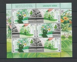 Moldova-2016-CEPT-Europa-034-Think-Green-034-Booklet