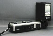 Minolta 16 QT Vintage Pocket Compact Mini Film Camera w Case CLEAN! Japan