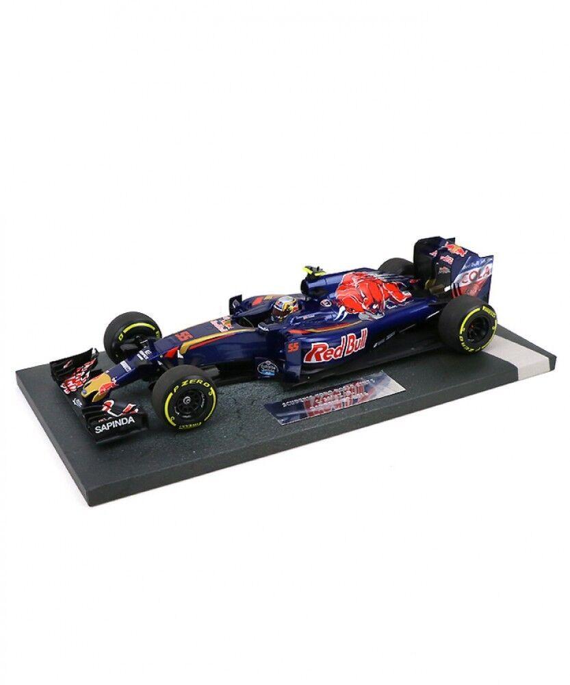 Nuevo Minichamps 1 18 Scuderia Toro rojo STR11 Carlos Saínz Jr 2016 Bahren GP