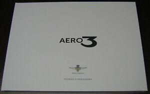 brochure 2020 TOURING SUPERLEGGERA FERRARI AERO 3 !!! _english text _ Hard Cover