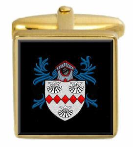 Abbey Angleterre Famille Cimier Nom De Armoiries Or Boutons Manchette Gravé Qvwdyzfb-08005029-402522204