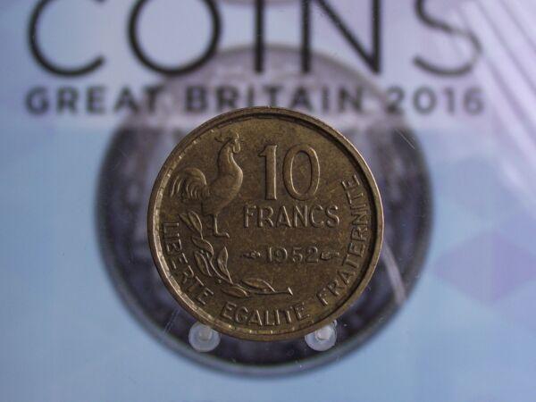 0037 10 F France 10 Francs 1952 Belle Apparence