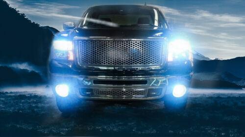 4x ice blue Hi//Lo Beam LED Headlight Bulbs For 2007-2013 GMC Sierra 1500 2500