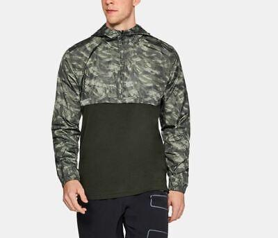 Generous Nwt Under Armour Ua Men's Sportstyle Windbreaker Anorak 1/2 Zip Jacket #1311107 Activewear Tops