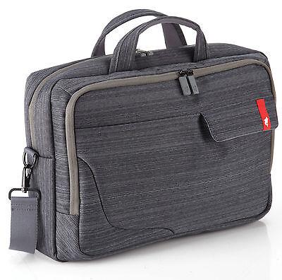 "Kapsule Top Load 15.6"" Laptop Bag - Charcoal Grey"
