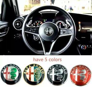 1pc-40mm-Alfa-Romeo-Volante-Emblema-Insignia-Alfa-Romeo-Brera-147-156-159-166