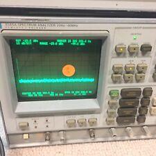 Hp 3585a Spectrum Analyzer 20hz To 40mhz Tested Working