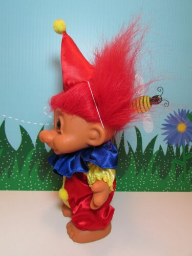 "Rare 8/"" Russ Troll Doll NEW CLOWN"
