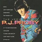 The Very Best of P.J. Proby by P.J. Proby (CD, Jul-1998, EMI)