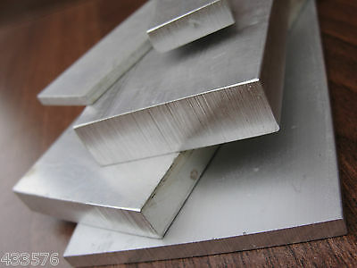 "1"" x  1/8"" Aluminium Flat Bar  250mm - 600mm Long    Milling, Drill, Signs"