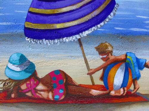 poster art print painting for glass frame by Andy Baker Australia COA