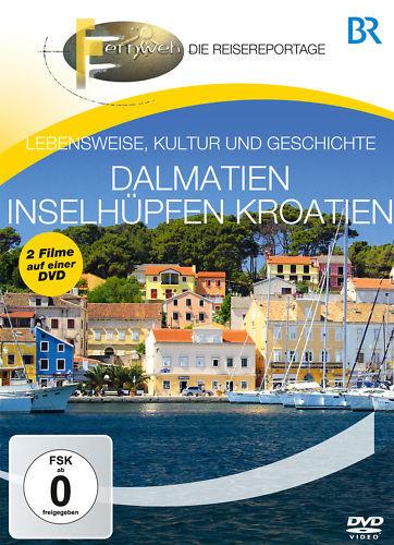 DVD Dalmatien und Inselhüpfen Kroatien von BR Fernsehen das Reisemagazin auf DVD