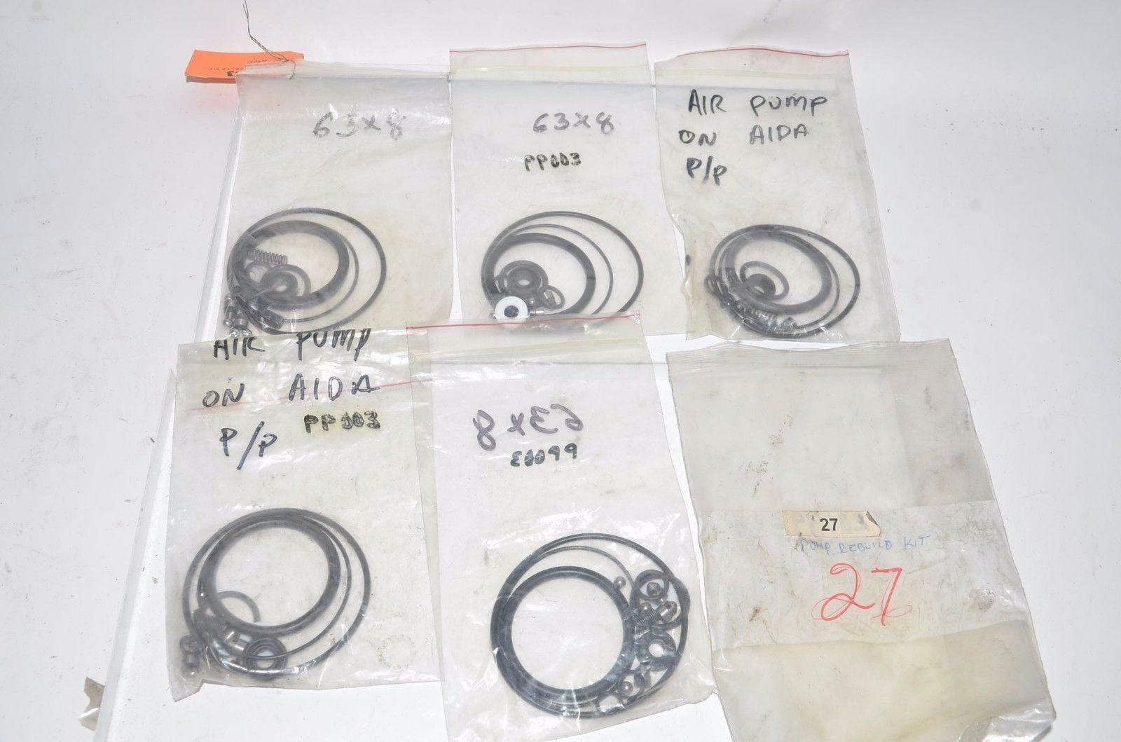Lot of Rebuild Kit for Pump Pump Pump Parts Seals Gaskets Aida Air Pump 5aac53
