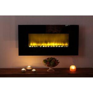 Das Bild Wird Geladen Design LED Wandkamin Elektrokamin Kamin Elektrisch Wohnzimmer Deko