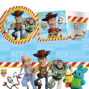 Detalles De Disney Toy Story 4 Película Fiesta Vajilla Decoraciones Globos Ver Título Original