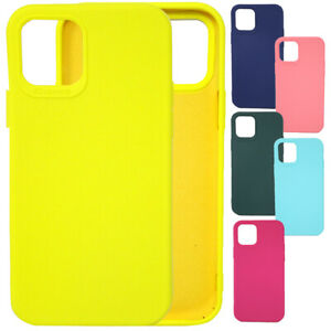 Pellicola-vetro-Custodia-cover-TPU-SMOOTH-CASE-per-Apple-iPhone-12-e-12-Pro-6-1-034