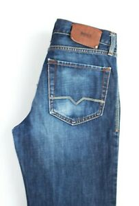 HUGO-BOSS-Men-HB31-Regular-Fit-Straight-Leg-Jeans-Size-W30-L30-PZ546