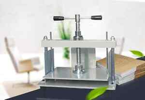 A4-Size-Manual-Flat-Paper-Press-Machine-for-Nipping-Vouchers-Books-Invoices