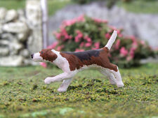 1:32 SCALE GAUGE 1 LEAD FREE HUNT HOUND FOR BRITAINS FARM, STABLEMATES COSMO