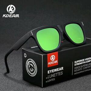 Kdeam-Men-Women-Polarized-Sunglasses-Outdoor-Sport-Driving-Square-Glasses-New