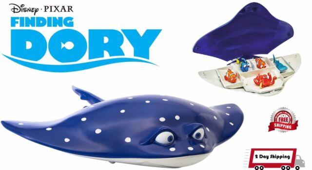Finding Dory Swigglefish Mr Ray 3 in 1 Storage Case Play Set New Genuine 3+