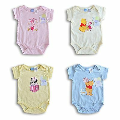 Unisex Baby Clothing 6-9m DISNEY BABY BODYSUIT 0-3m 3-6m New With Tags