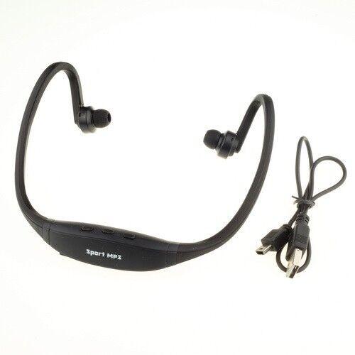 Sport Wireless Earphone Headphone Music MP3 Player FM radio Headset TF Card Slot