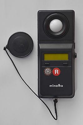 Kompetent Minolta Illuminance Meter T-1m Guter Zustand Gute Begleiter FüR Kinder Sowie Erwachsene Fotostudio-zubehör