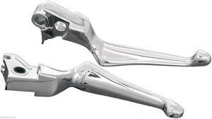 Kuryakyn-Chrome-Boss-Blades-Levers-Hydraulic-Clutch-99-06-Twin-Cam-amp-02-05-V-Rod