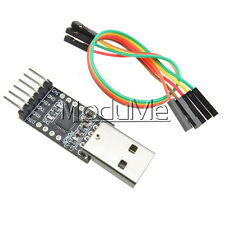 USB 2.0 CP2102 To TTL UART Module 6Pin Serial Converter + Free Cables MO