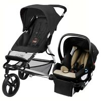 Mountain Buggy Mini Stroller & Protect Car Seat Black Travel System Free Ship