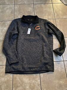 NWT-Antigua-Golf-XXLT-2XLT-Chicago-Bears-Zip-Pullover