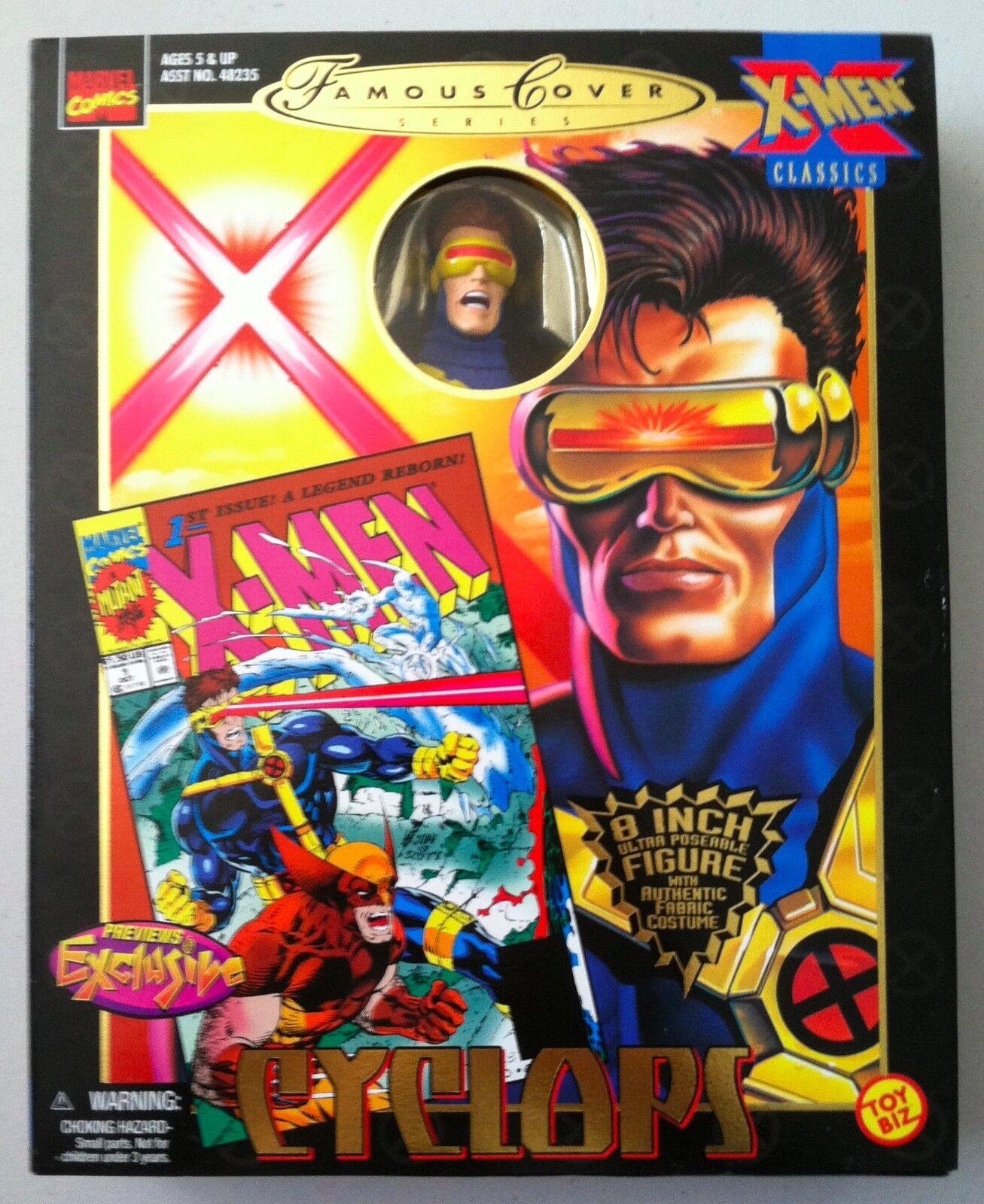 Marvel Universe Legends Retro Style CYCLOPS Action Figure BRAND NEW XMEN