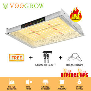 V99GROW 1000W LED Grow Lights Lamp Sunlike Full Spectrum Hydroponics Veg Bloom S