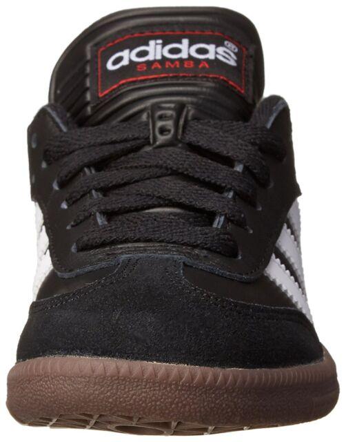 2c445d8ebfdc8 adidas Samba Classic J 036516 Youth Boys Black Indoor Soccer Shoes ...