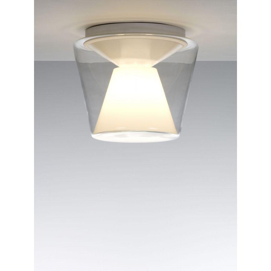 SERIEN LIGHTING Annex Ceiling Large Glas Klar opal Deckenleuchte Lampe 32W GX24q