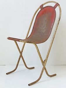 Image Is Loading BEAUTIFUL CHAIR MODERNIST ENTIRELY METAL VINTAGE 1920 1930